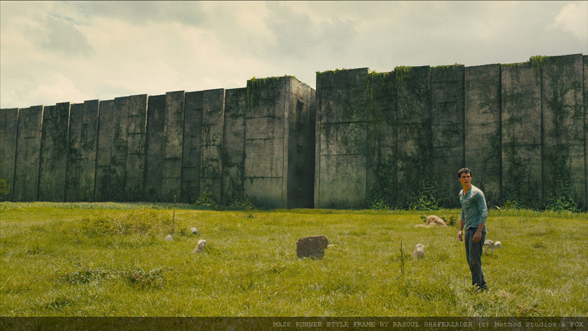 Maze Runner : Problem solving with style frame